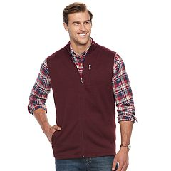 Big & Tall Croft & Barrow® Classic-Fit Outdoor Fleece Vest
