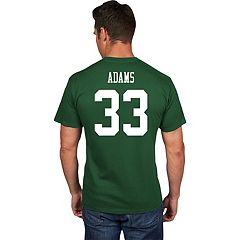 Men's Majestic New York Jets Jamal Adams Eligible Receiver Tee