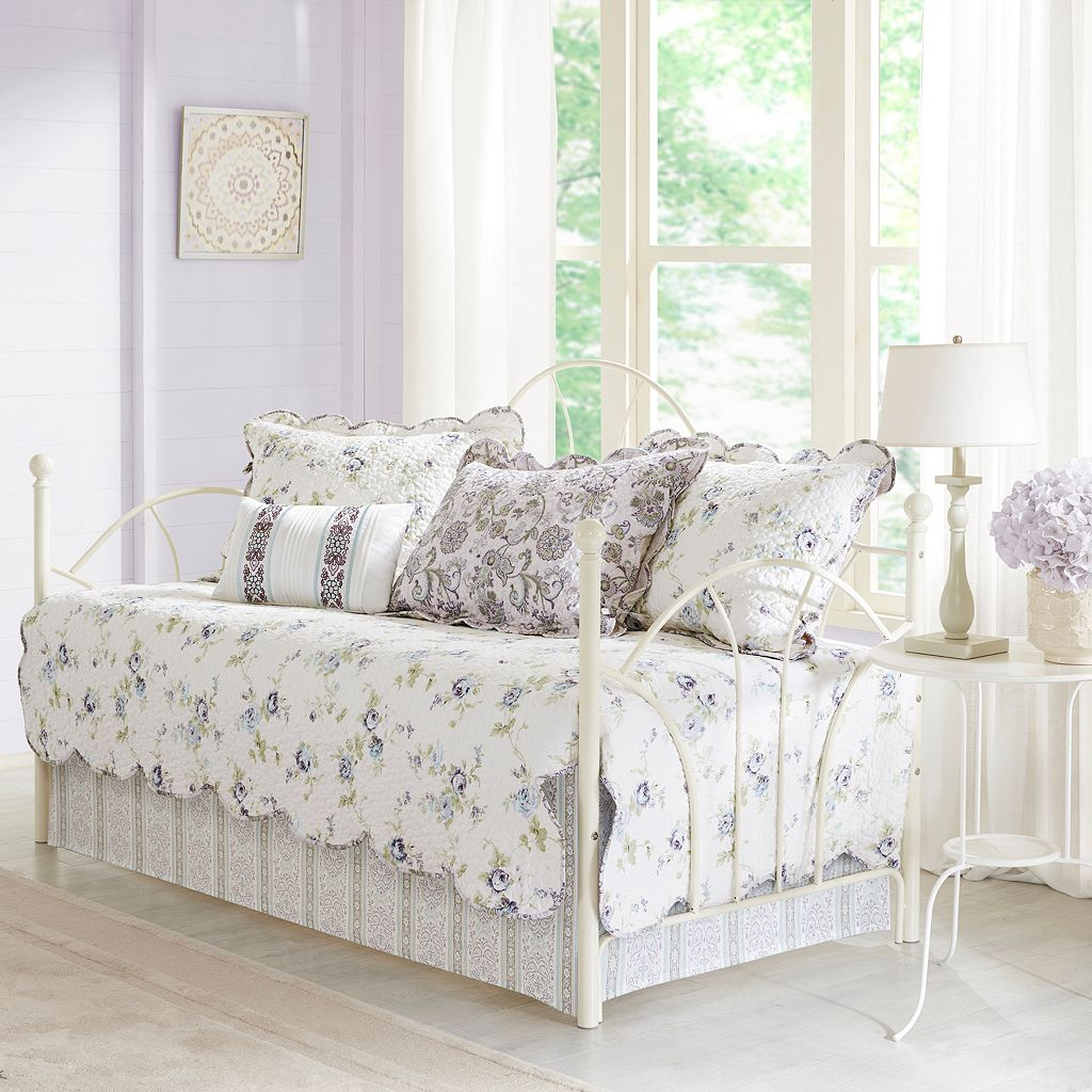 Madison Park 6-piece Poalina Floral Daybed Set