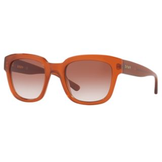DKNY DY4145 52mm Rectangle Gradient Sunglasses