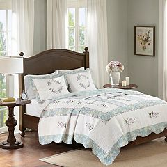 Madison Park 3-piece Olga Coverlet Set