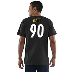 Men's Majestic Pittsburgh Steelers T. J. Watt Eligible Receiver Tee