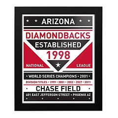Arizona Diamondbacks Dual Tone Framed Wall Art