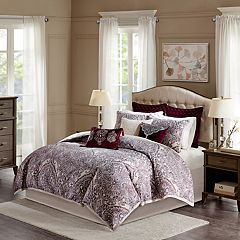 Bombay 9 pc Patterson Jacquard Bedding Set