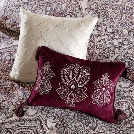 Bombay 9-piece Patterson Jacquard Bedding Set