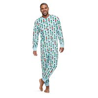 Men's Jammies For Your Families Nutcracker One-Piece Fleece Pajamas