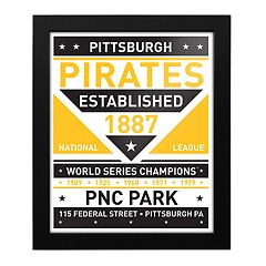 Pittsburgh Pirates Dual Tone Framed Wall Art