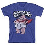 Boys Captain Underpants Tee