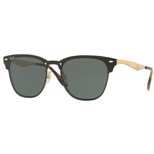 be3af1852cdf8 Ray-Ban Blaze Clubmaster RB3576N 47mm Rimless Square Sunglasses