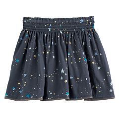 Girls 4-12 SONOMA Goods for Life™ Smocked Waist Skort