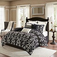 Bombay 9 pc Harrison Chenille Jacquard Bedding Set