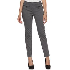 Juniors' Candie's® Zip Pocket Pull-On Dress Pants