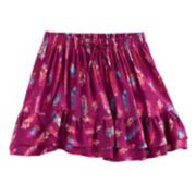 Girls 4-12 SONOMA Goods for Life? Smocked Ruffle Skort