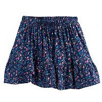 Girls 4-12 SONOMA Goods for Life™ Smocked Ruffle Skort