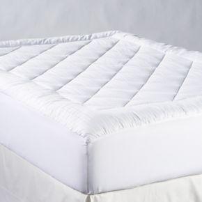 Chaps 500 Thread Count Maximum Comfort SuPima Cotton Mattress Pad