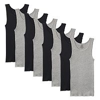 Men's Fruit of the Loom Signature 6-pack + 2 Bonus A-Shirts