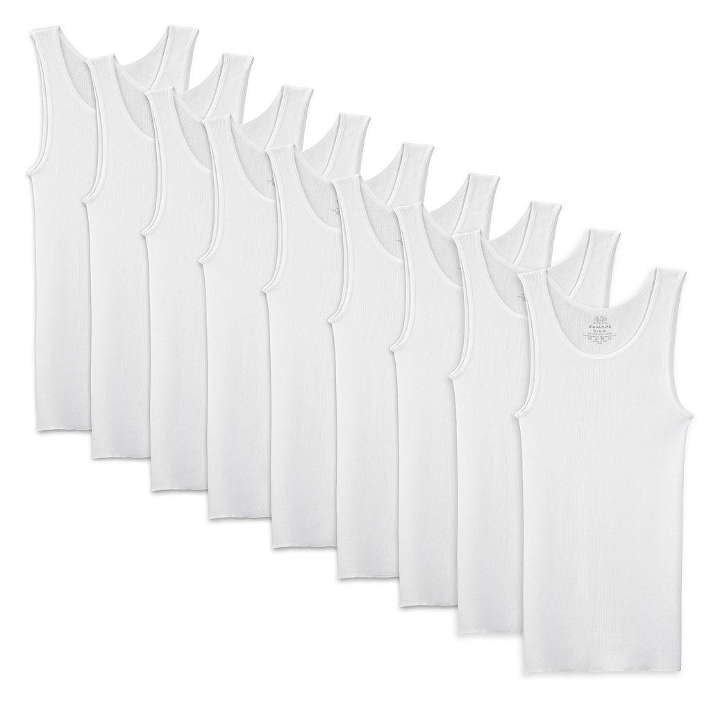 Men's Fruit of the Loom Signature 7-pack + 2 Bonus A-Shirts
