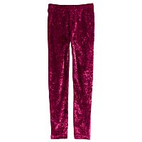 Girls 4-12 SONOMA Goods for Life™ Velour Long Leggings