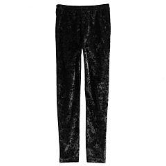 Girls 4-12 SONOMA Goods for Life™ Velour Long Leggings