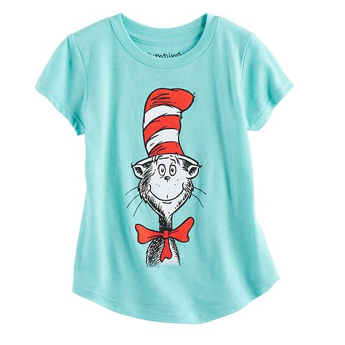 Toddler Girl Jumping Beans® Dr. Seuss Cat in the Hat Graphic Tee