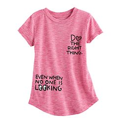 Toddler Girl Jumping Beans® 'Do The Right Thing' Graphic Tee