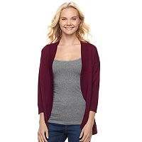 Juniors' My Michelle Cocoon Cardigan
