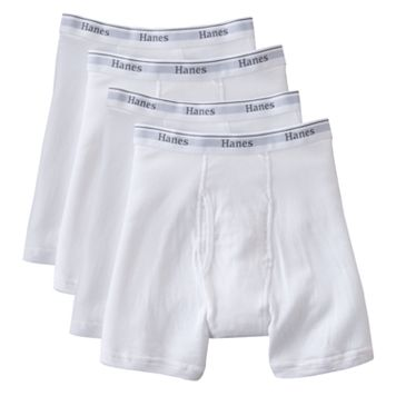 Men's Hanes Classics 4-pack Fresh IQ Boxer Briefs