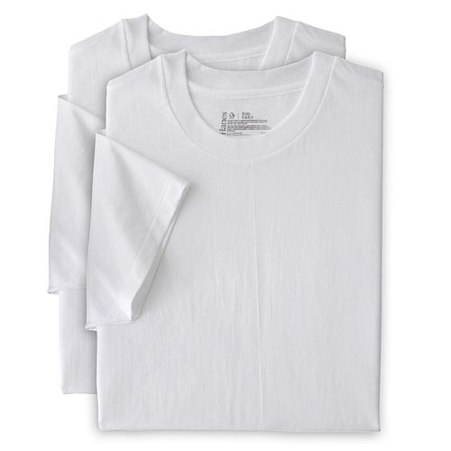 Big & Tall Hanes Classics 4-pack Crew Tees