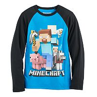 Boys 8-20 Minecraft Gang Tee