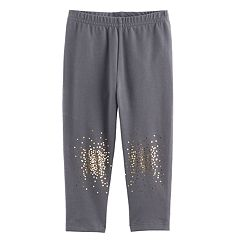 Baby Girl Jumping Beans® Foil Splatter Leggings