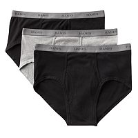 Big & Tall Hanes Ultimate 3-pack Fresh IQ Full-Cut Briefs
