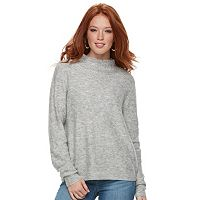 Women's Juicy Couture Bedazzled Funnel Neck Sweater