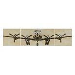 Intelligent Design Flight Time Canvas Wall Art 3-piece Set