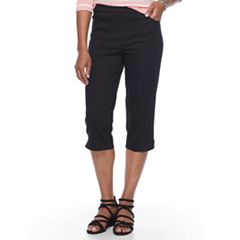 Women's Croft & Barrow® Pull-On Capris