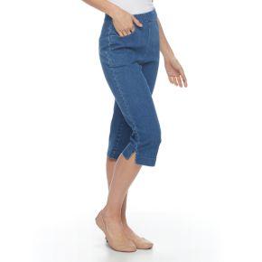 Women's Croft & Barrow® Pull-On Capris