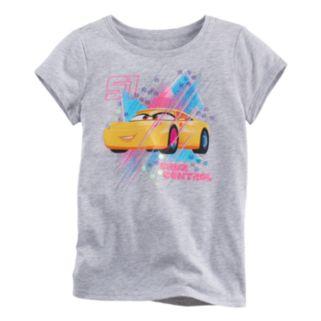 """Disney / Pixar Cars 3 Toddler Girl Cruz Ramirez """"Cruz Control"""" Tee by Jumping Beans®"""