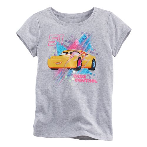 "Disney / Pixar Cars 3 Girls 4-7  Cruz Ramirez ""Cruz Control"" Tee by Jumping Beans®"