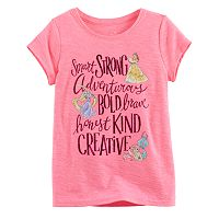 Disney Princess Toddler Girl Belle, Rapunzel & Ariel Tee by Jumping Beans®