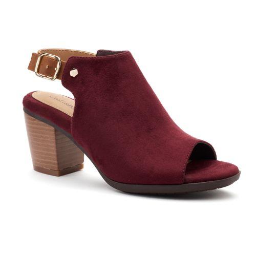 Croft & Barrow® Sabrina Women's High Heel Mules