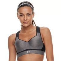 Under Armour Warp Knit Heather High-Impact Sports Bra 1313285