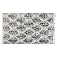 Chesapeake Fuga Chindi Sinuous Damask Rug - 5' x 7'