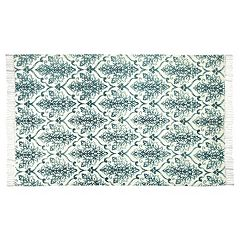 Chesapeake Fuga Chindi Ornate Damask Rug - 5' x 7'