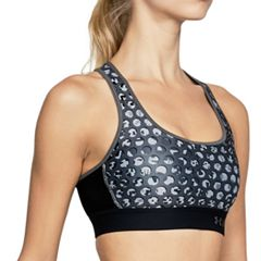 Under Armour Mid Crossback Printed Medium-Impact Sports Bra 1307213