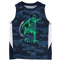 Boys 4-12 OshKosh B'gosh® Mesh Camouflaged Muscle Tank