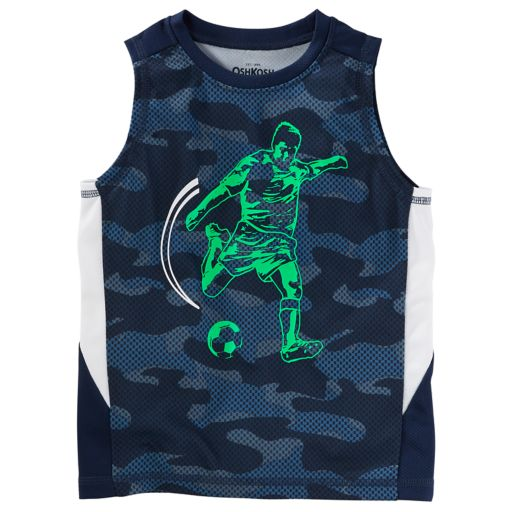 Boys 4-12 OshKosh B'gosh® Mesh Camouflaged Muscle Tank