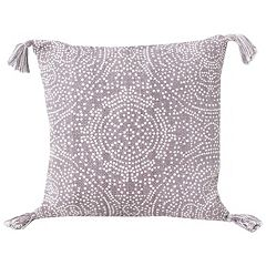 Thro by Marlo Lorenz Kerra Dot Medallion Reversible Throw Pillow