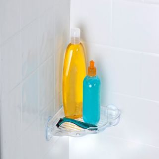 Bath Bliss Suction Cup Corner Bath Shelf