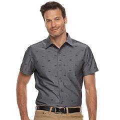 Men's Haggar Classic-Fit Button-Down Shirt