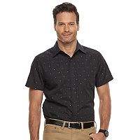 Men's Haggar Classic-Fit Button-Down Shirt