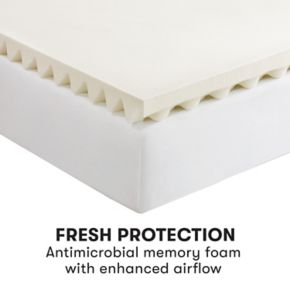 Serta 2.5-inch All Around Comfort Memory Foam Mattress Topper